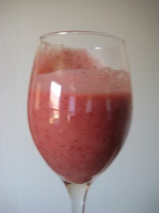 Apple Cranberry Smoothie