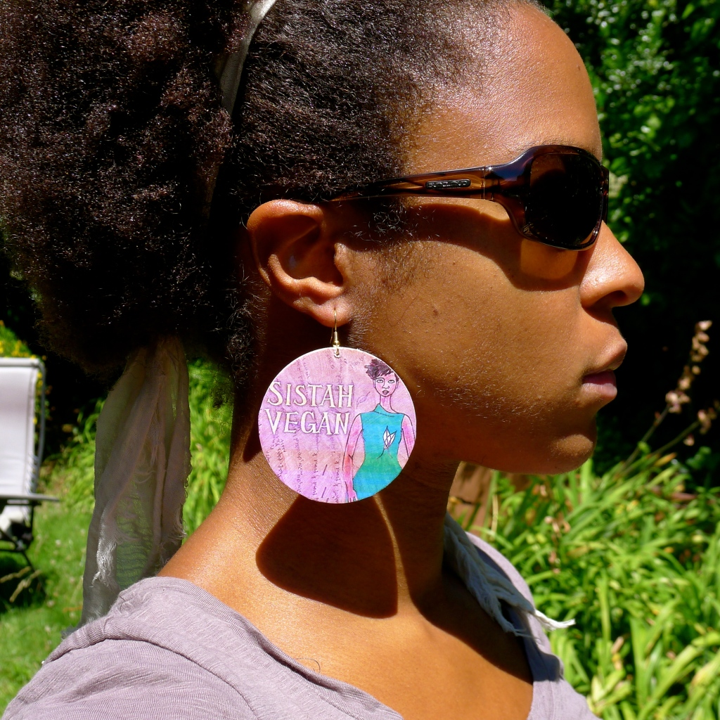 On Sistah Vegan Earrings and Vegan Dissertation Studies