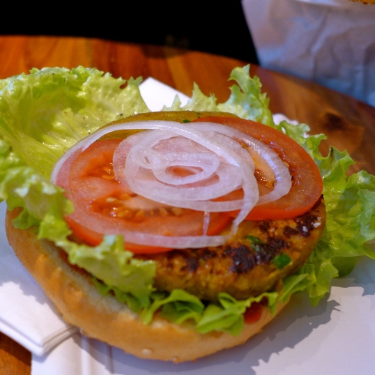 Bio-Burger's Vegan patty.